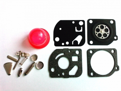 Carburetor Repair/Rebuild Kit Replaces ZAMA RB-47 for Poulan WeedEater Craftsman Trimmers Blowers