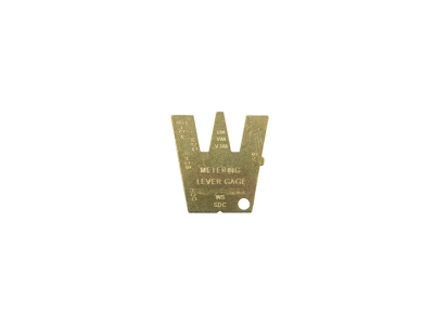Metering lever gauge Replaces Walbro 500-13-1